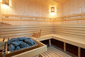 Финская сауна оказывает не менее благотворное влияние на организм человека, чем  русская баня на дровах